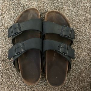 Birkenstock Arizona sandals - Black strap